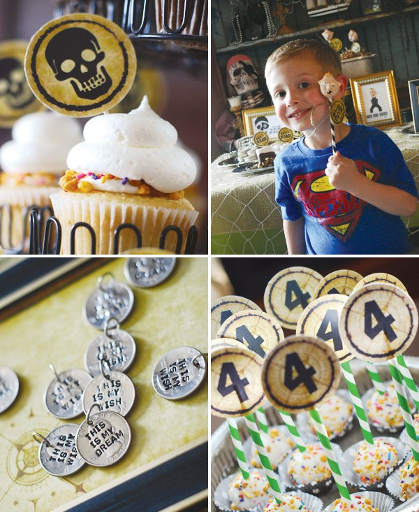 pirate themed goonies party desserts