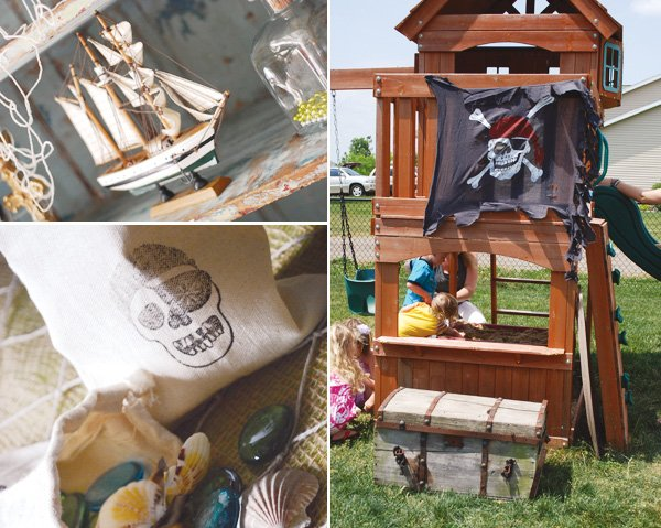 pirate themed goonies party hideout
