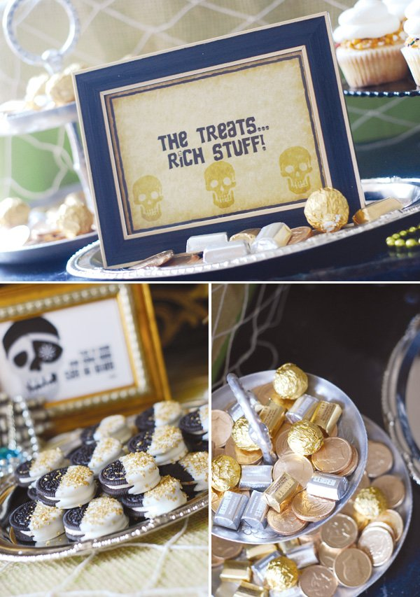 pirate themed goonies party treats
