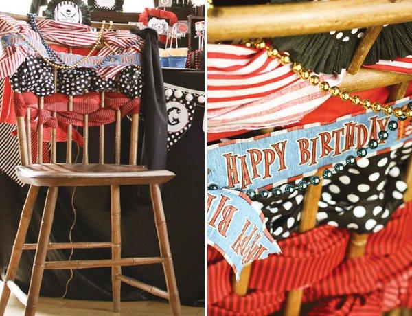happy birthday chair