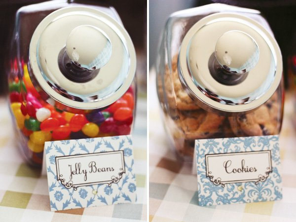 modern humpty dumpty dessert table candy