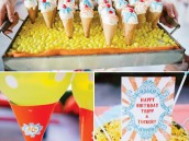 ice cream cone cake pops - ice cream birthday party