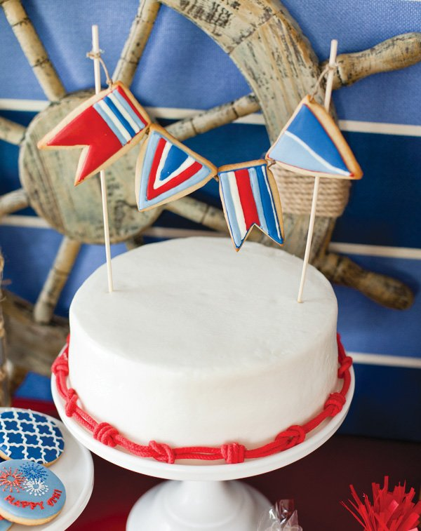 july 4th cookie bunting