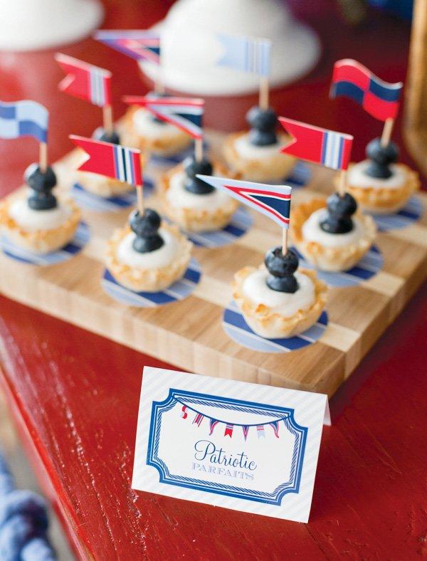 4th of july patriotic parfaits