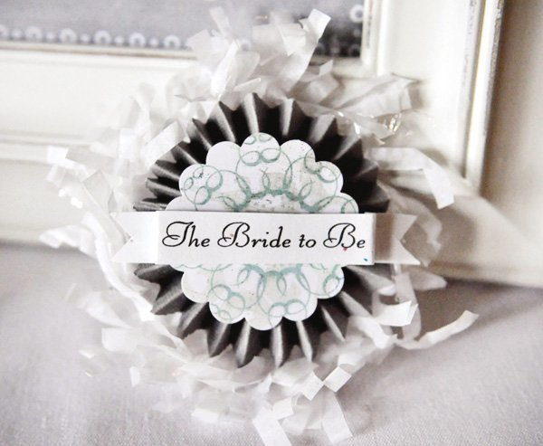all you need is love bridal shower pin