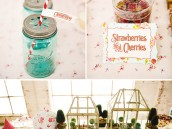 magic faraway tree birthday party tablescape and drinks
