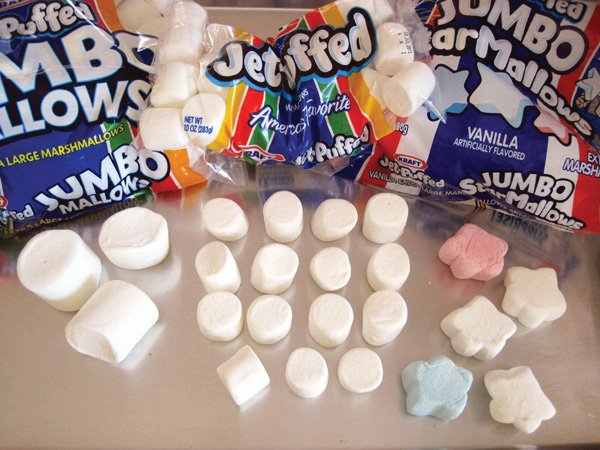 patriotic marshmallows