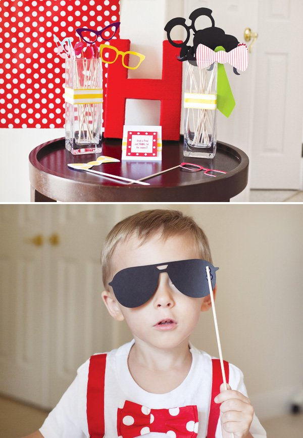 paper photobooth props