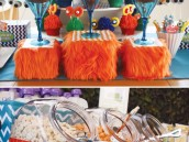 monster dessert table ideas