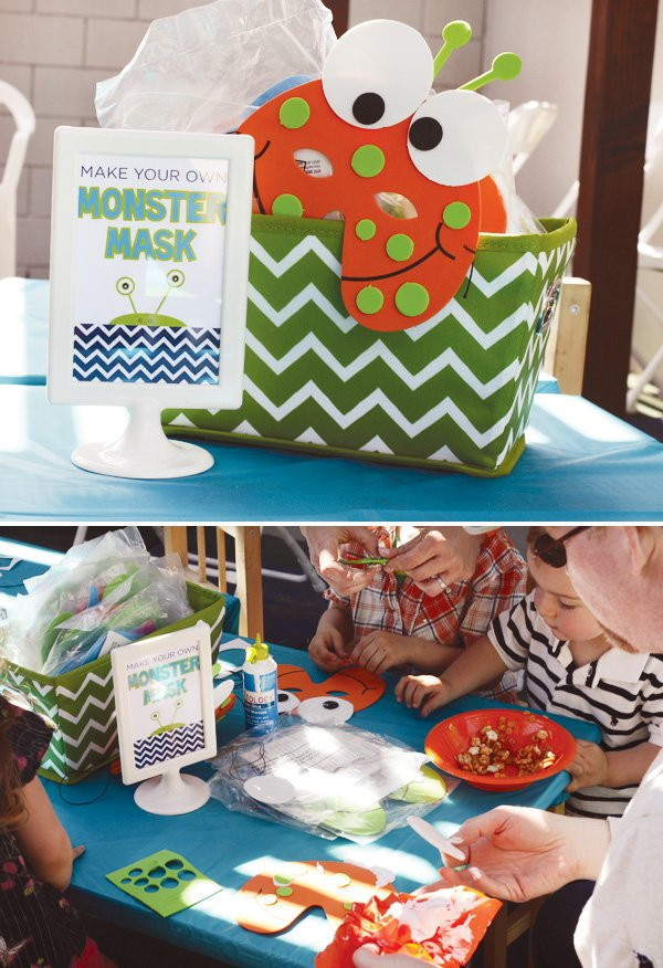 monster mask activity