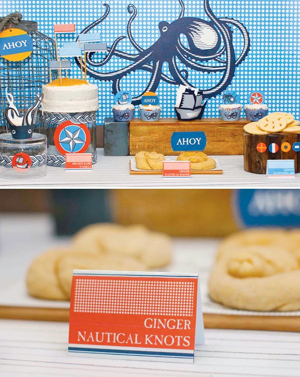 Nautical Knot cookies