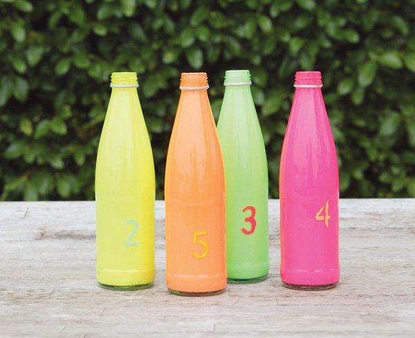 neon bottle tutorial