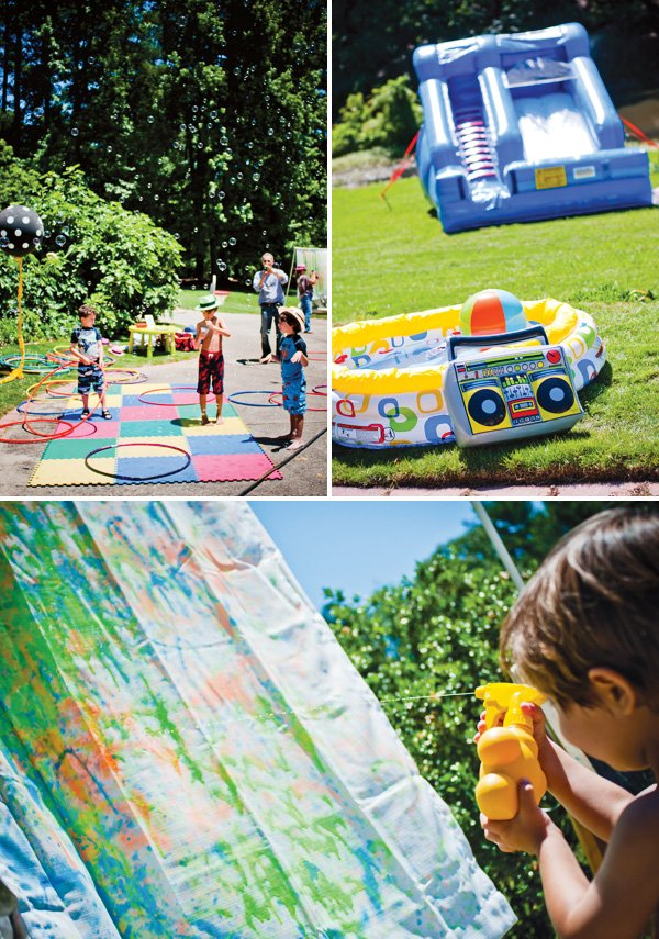 Kids outdoor party games and activities