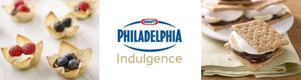 KRAFT Philadelphia Indulgence Recipes