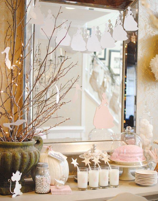 Pink Cinderella desserts
