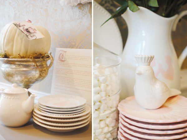 Pink Cinderella Plates