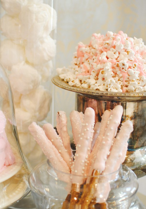 Pink sweet treats