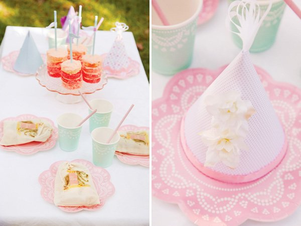 pink vintage circus tablescape