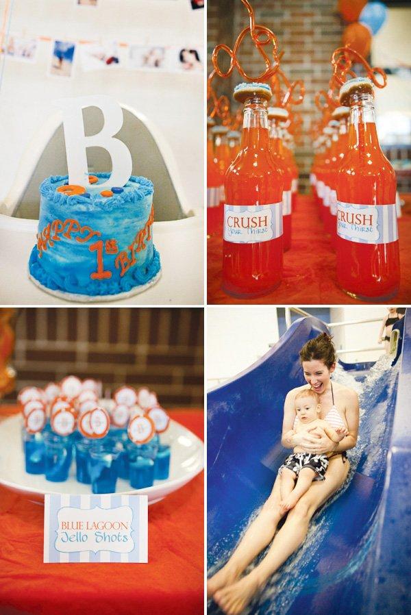 Splish, Splash! {Creative Pool Party First Birthday ...