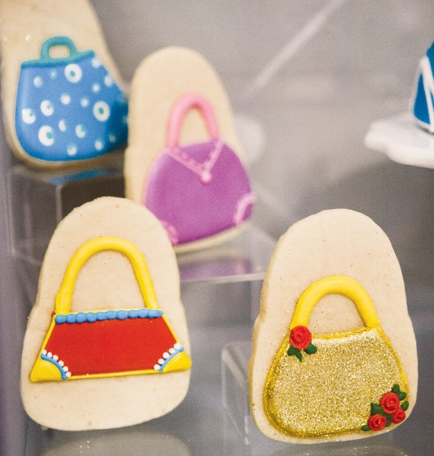 princess purse cookies