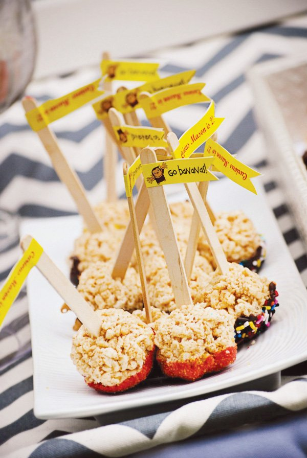Dipped rice krispie pops