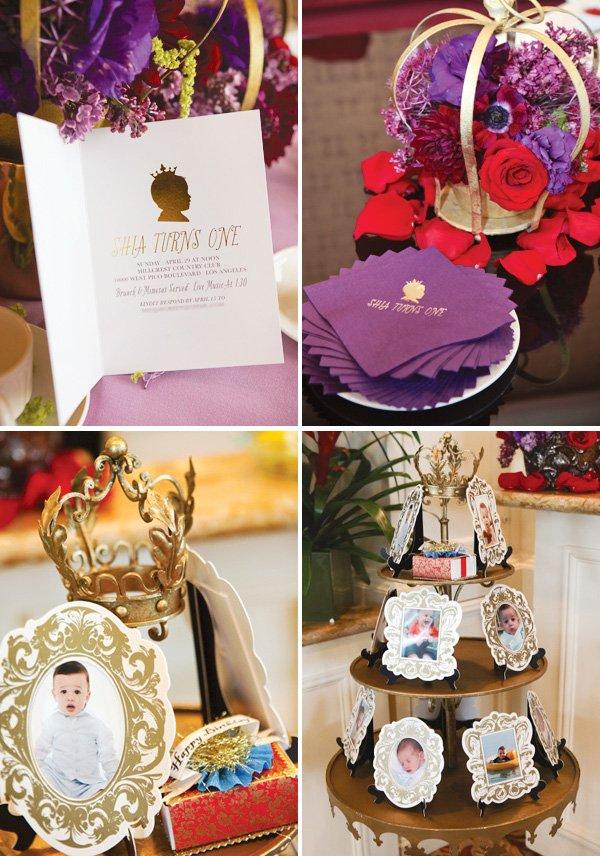 Royal birthday decorations