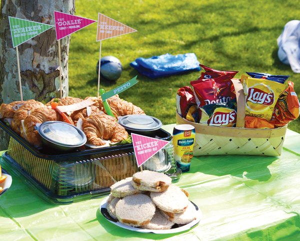 soccer & outdoor party food