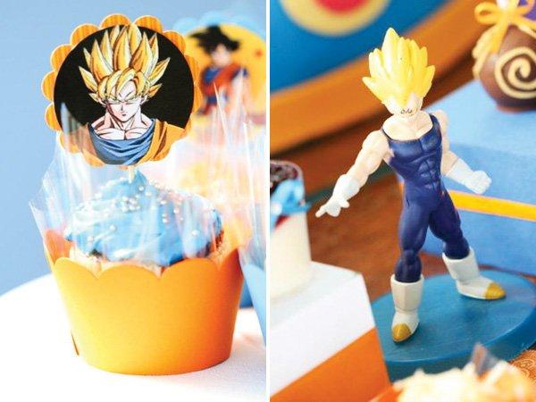 Son Goku cupcakes