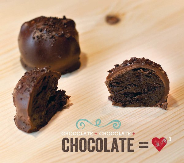 triple chocolate oreo cheesecake truffles