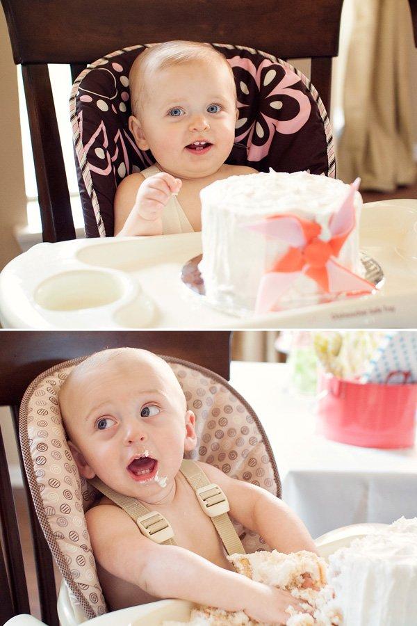 Twins Pinwheel Party Cake Smash