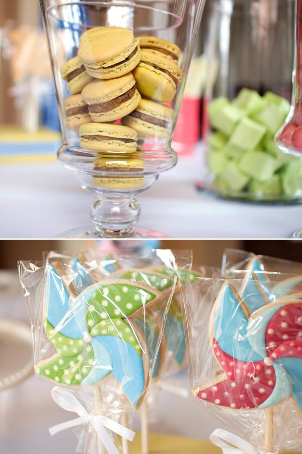 Twins Pinwheel Party Cookies