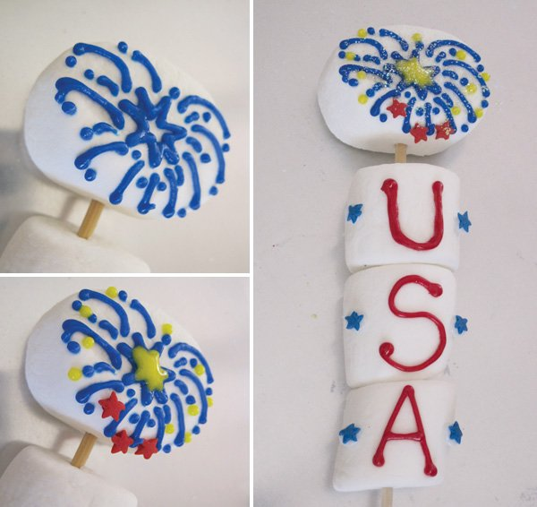 diy tutorial for a 4th of july usa marshmallow pop