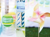 watercolor pinwheels