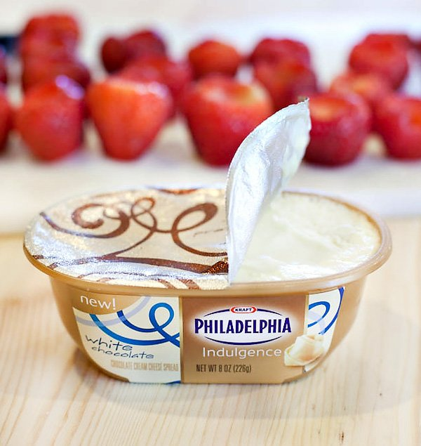 white chocolate philadelphia indulgence spread