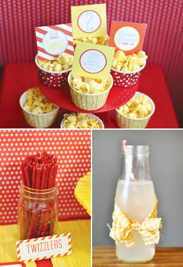 yellow gingham bow-tied fabric drink wrapper