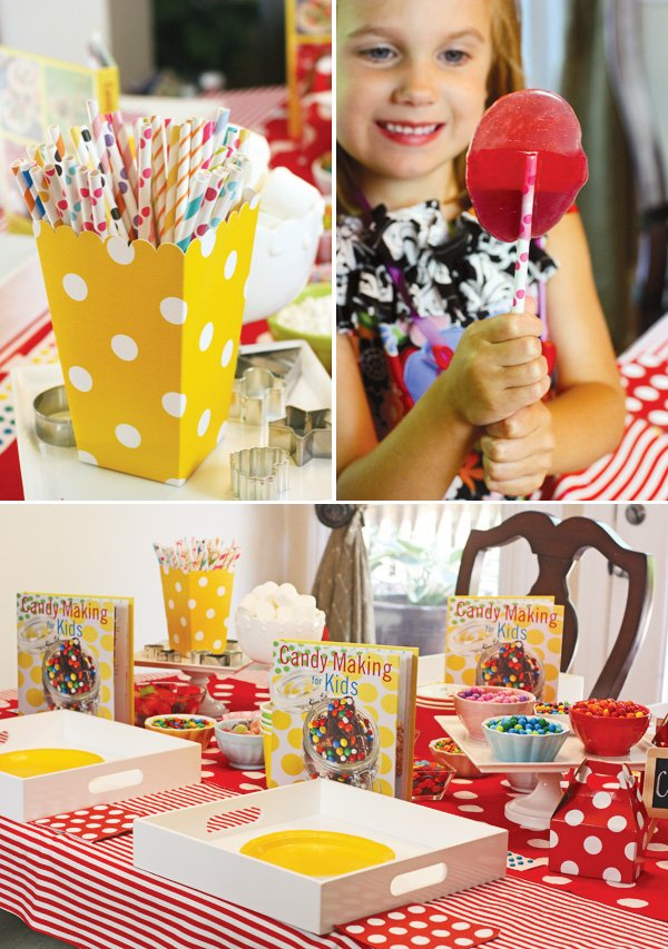 candy making for kids lollipops