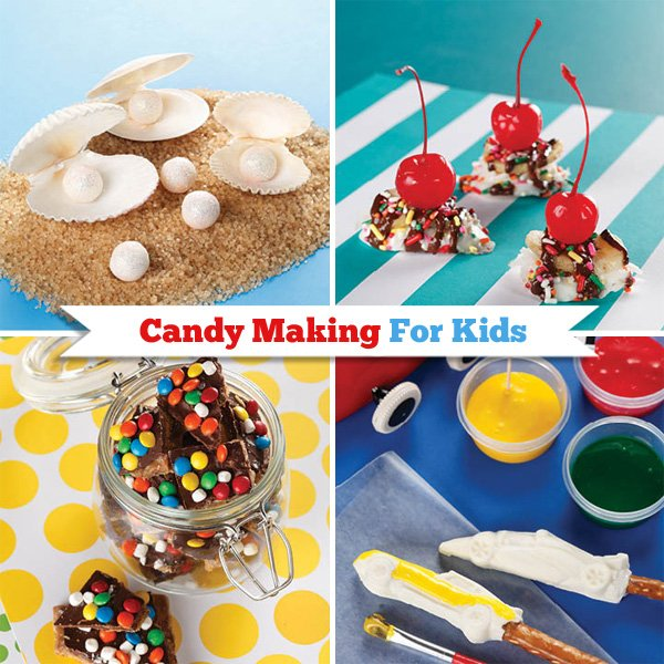 candy making for kids recipes