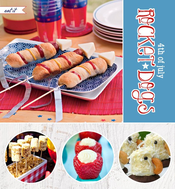 4th Of July Party Ideas Food Drinks DIY Decor Hostess With