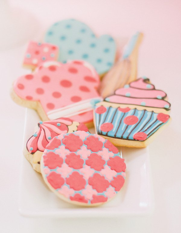 cupcake baking party cookies