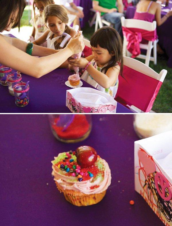 cupcake crafting activity
