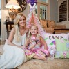 glamping birthday party bachelorette emily maynard and ricki in tent