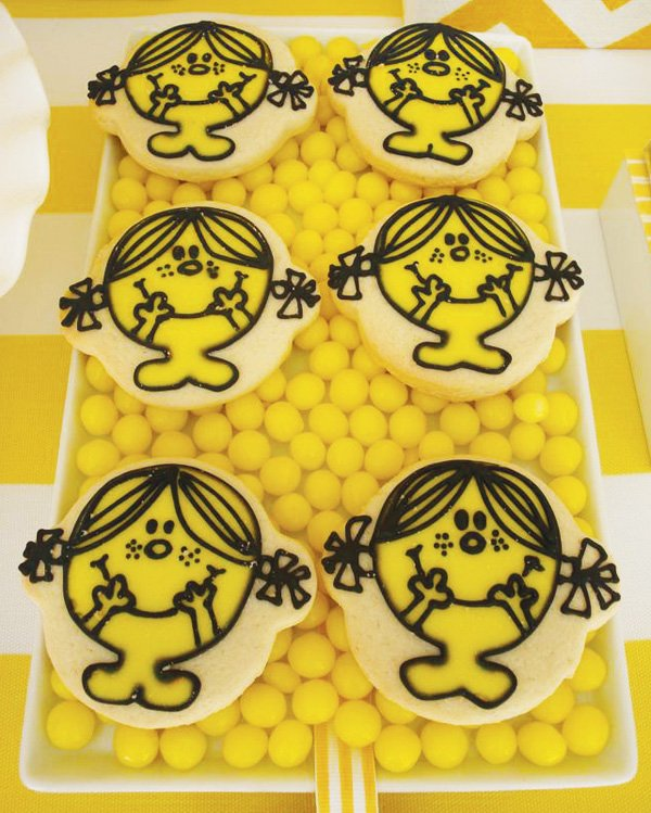 little miss sunshine cookies