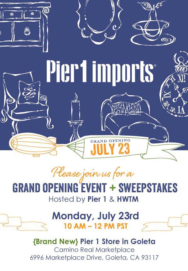 Pier 1 Goleta Store Opening