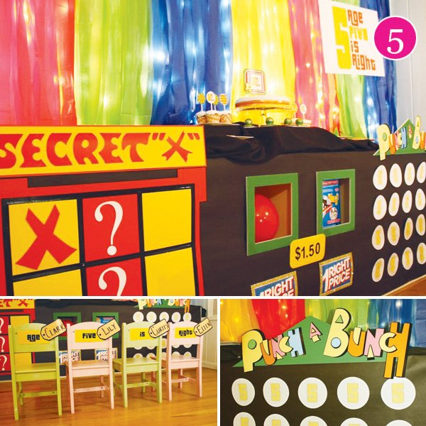 price is right party for 5 year olds