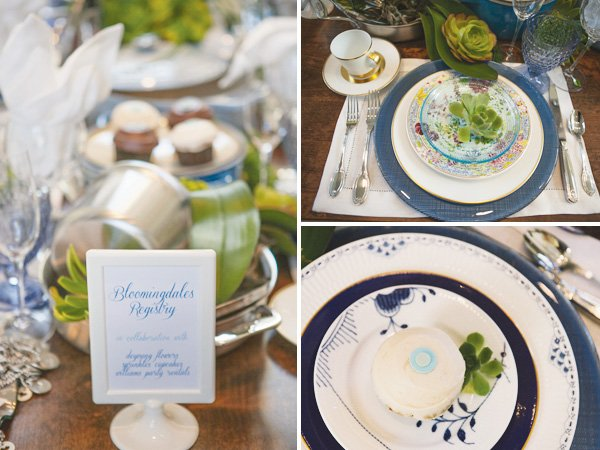 something blue bridal event with a bloomingdales registry