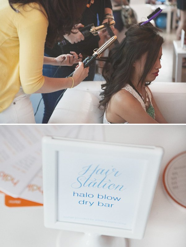 something blue bridal event hair station