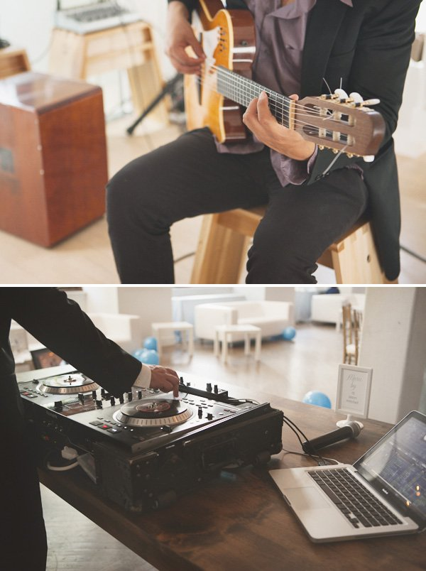 something blue bridal event guitar and dj music