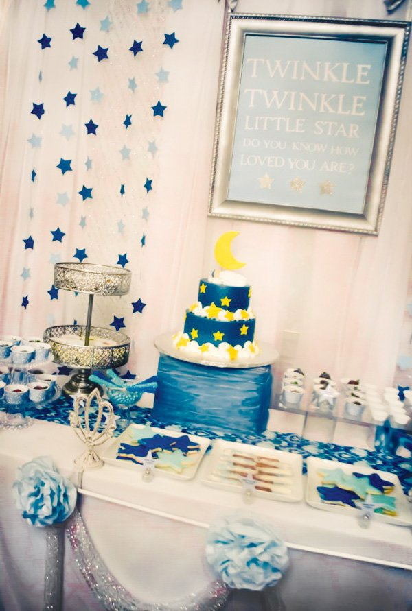 twinkle twinkle little star dessert table