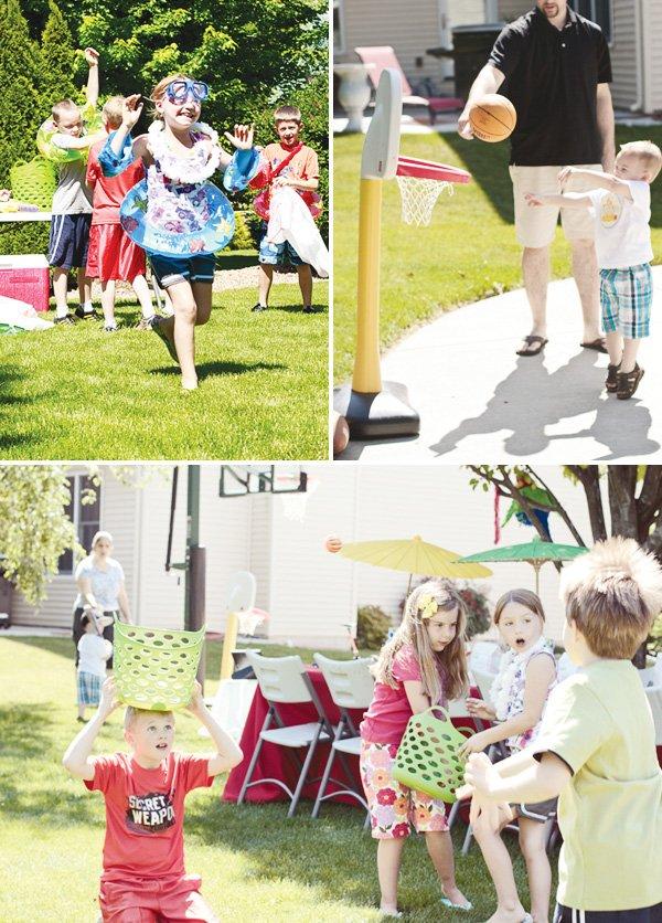 welcome summer party activities