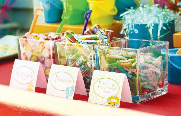 welcome summer party candy